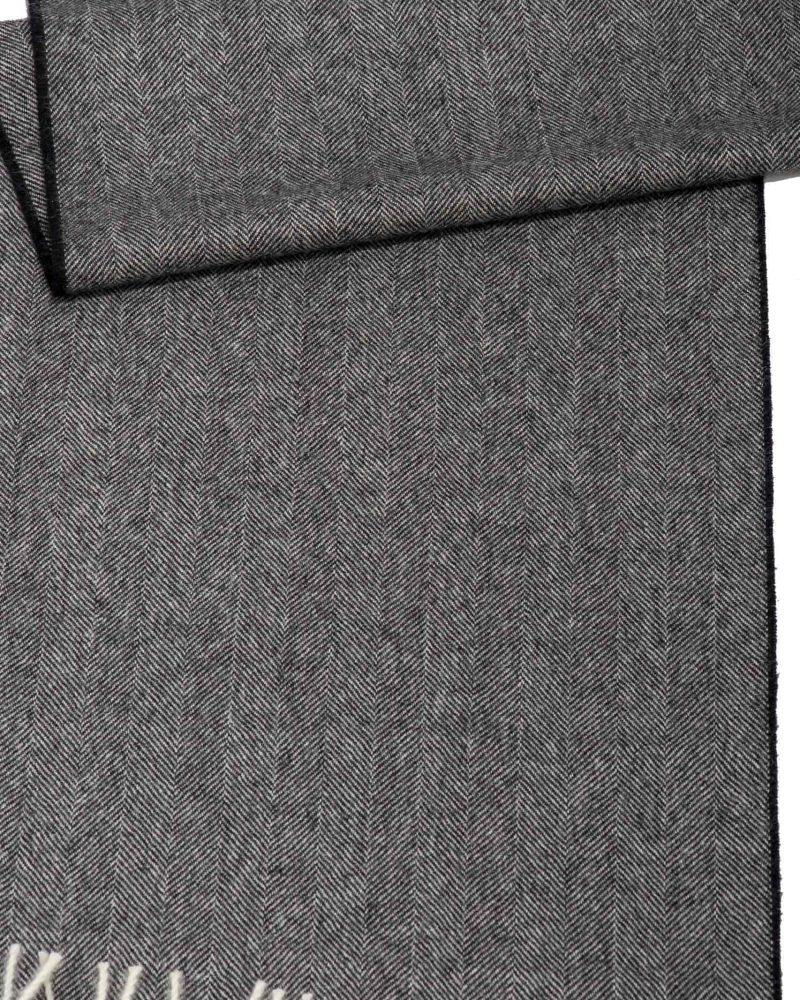 Sciarpa Baby Alpaca Donna grigio scuro